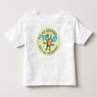 Let's Go Bananas Monkey Toddler T-Shirt