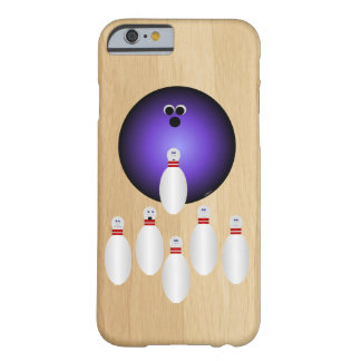 Let's Go Bowling iPhone 6/6s, Barely There Case