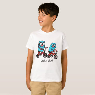 Let's go by Cindy Ginter bike riding T-Shirt