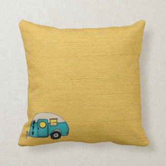 LET'S GO CAMPING CUSHION