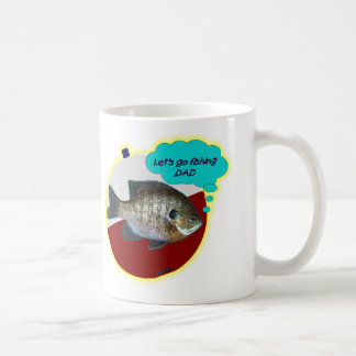 Let's Go Fishing Dad Coffee Mugs
