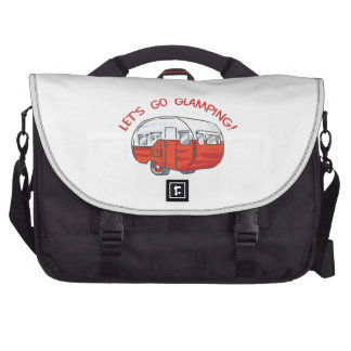 LETS GO GLAMPING LAPTOP BAGS
