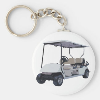 Let's Go Golfing Keychains