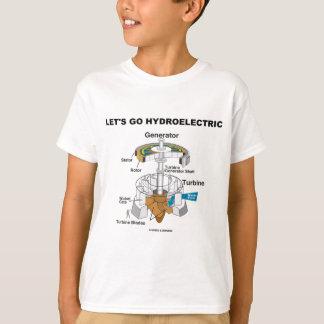 Let's Go Hydroelectric (Turbine Generator) Tees