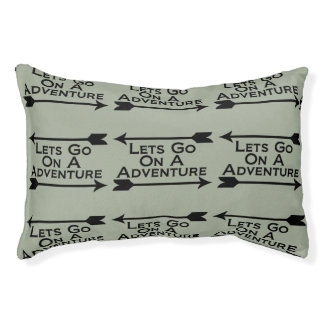 Lets Go On A Adventure Nature Wilderness Pet Bed