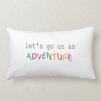 Let's go on an adventure cushion