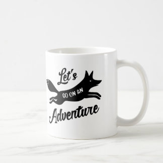 Let's Go On An Adventure White mosquito Coffee Mug