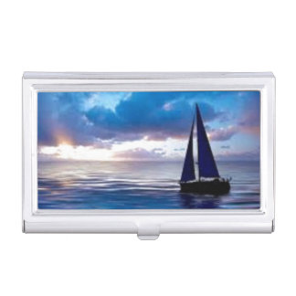 Let's Go Sailing Business Card Holder