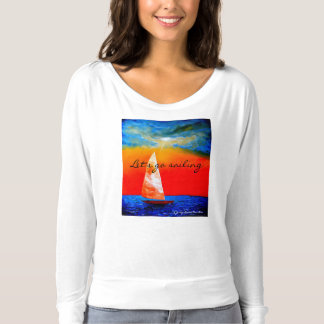 Let's Go Sailing T-Shirt - Jenny Simon Merchandise