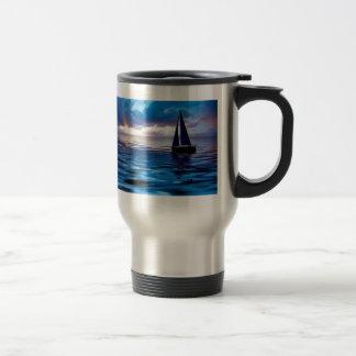 Lets Go Sailing Travel Mug