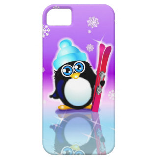 Let's Go Skiing iPhone 5 Case