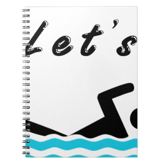 Let's Go Swimming Notebook