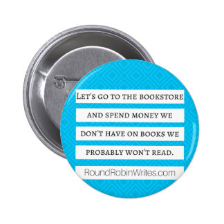 Let's Go To The Bookstore (button) 6 Cm Round Badge