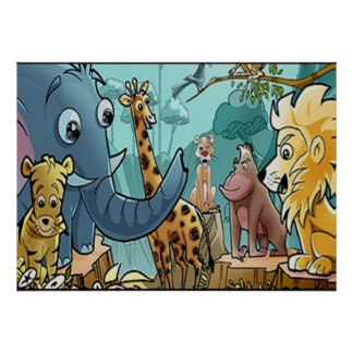 Lets Go To The Zoo - Poster