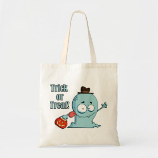 Let's Go Trick Or Treat Halloween Tote Bag Budget Tote Bag