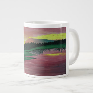 Let's golf large coffee mug