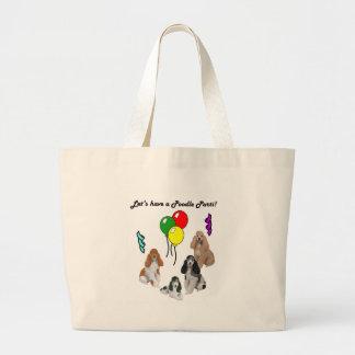 Lets Have a Parti Large Tote Bag
