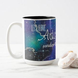 Let's Have Adventures Under the Stars Mug