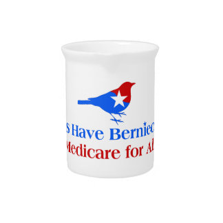Let's Have Berniecare - Medicare For All Pitcher