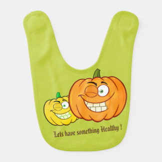 Lets have something healthy Pumpkin Bib