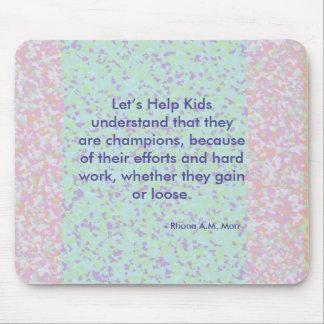 Let's Help Kids Mousepad