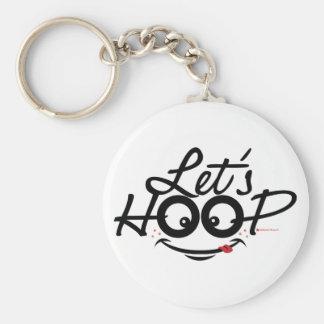 Let's Hoop: Key chains