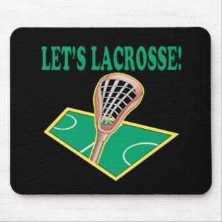 Lets Lacrosse Mousepads