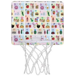 Lets learn the ABC's! Teach kids and babies about Mini Basketball Hoop