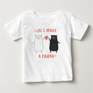 let's make a panda baby T-Shirt