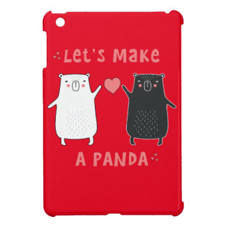 let's make a panda iPad mini cases