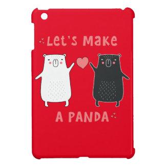 let's make a panda iPad mini cover
