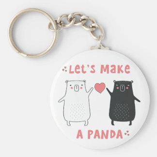 let's make a panda key ring