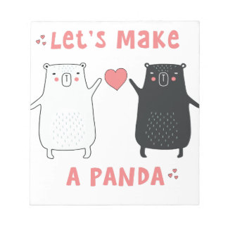 let's make a panda notepad