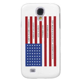 Let's Make America Great Again!  Americana  MAGA Galaxy S4 Cover