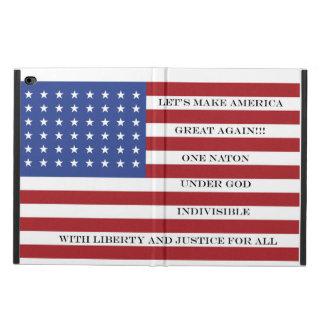 Let's Make America Great Again!  Americana  MAGA Powis iPad Air 2 Case