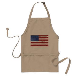Let's Make America Great Again!  Americana  MAGA Standard Apron