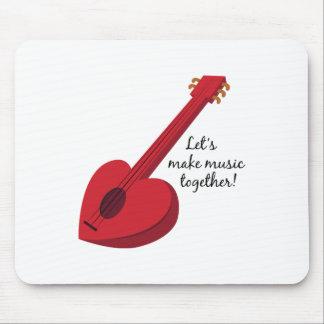 Let's Make Music Together! Mousepads