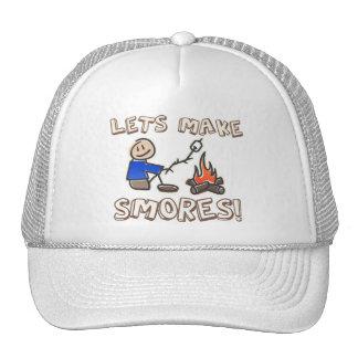 Lets make S'mores! Trucker Hats