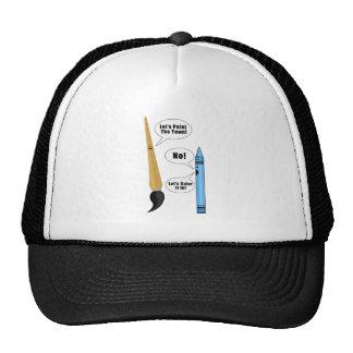 Lets Paint The Town Trucker Hat