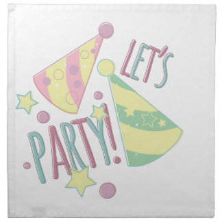 Lets Party Napkin