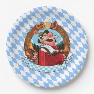 Let's Party Oktoberfest Party Paper Plates