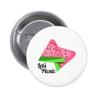 Let's Picnic Pin