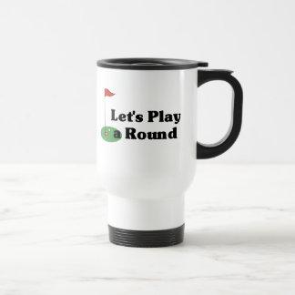 Let's Play a Round Mug