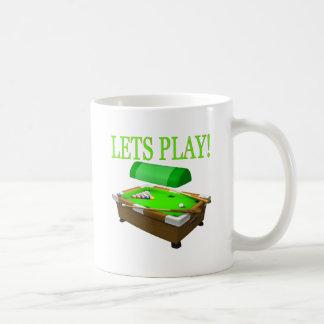 Lets Play Basic White Mug