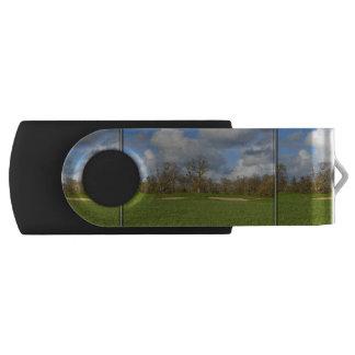 Let's Play Golf Swivel USB 2.0 Flash Drive