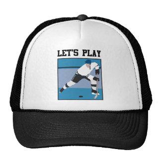 Let's Play Hockey Trucker Hat