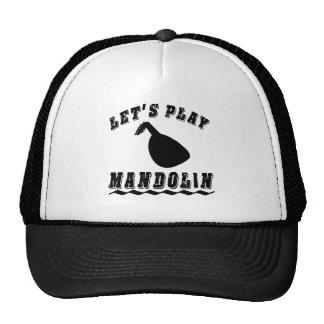 Let's Play Mandolin Cap