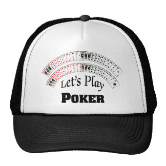 """Let's Play Poker"" Hat"