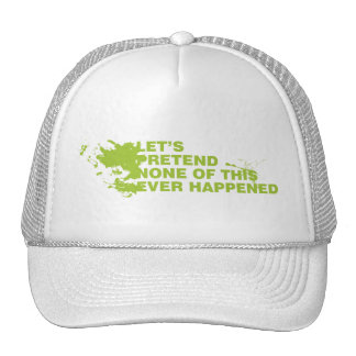 Let's Pretend Trucker Hats