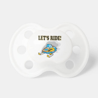 Lets Ride Baby Pacifiers